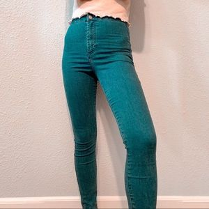 TopShop high-waisted skinny jeans